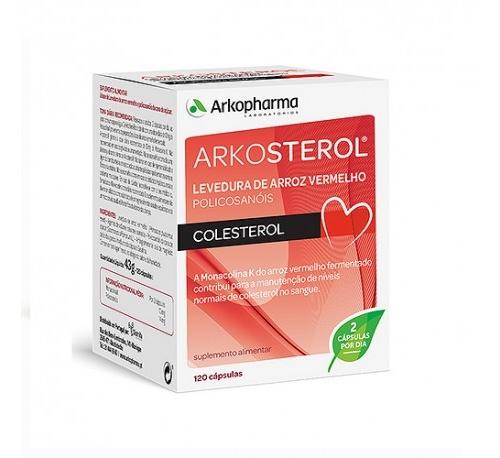 Arkosterol levadura roja de arroz (120 capsulas)