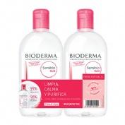 Bioderma sensibio h2o duplo 500ml+500ml