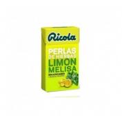 Ricola perlas s/a limon-melisa 25 gr