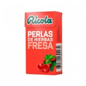 Ricola perlas s/a fresa 25 gr