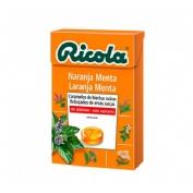 Ricola caja caramelos s/a naranja 50 gr