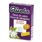 Ricola caja caramelos s/a flor de sauco 50 gr