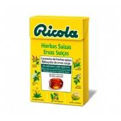 Ricola caja caramelos s/a hierbas suizas 50 gr
