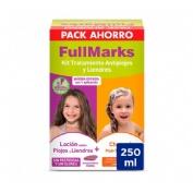 Fullmarks antipiojos y liendres champu + locion - pediculicida (kit 100+150 ml)