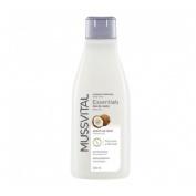 Mussvital essentials gel baño coco 750ml
