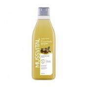 Mussvital essentials gel baño aceite de oliva (1 envase 750 ml)