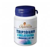 Triptofano con melatonina + magnesio y vit b6 - ana maria lajusticia (60 comprimidos)