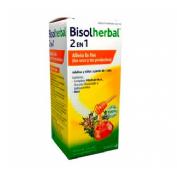 Bisolherbal 2 en 1 miel, fracciones de tomillo y llanten (jarabe 180 g)