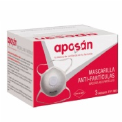 Mascarilla autofiltrante ffp1 - aposan (3 unidades)