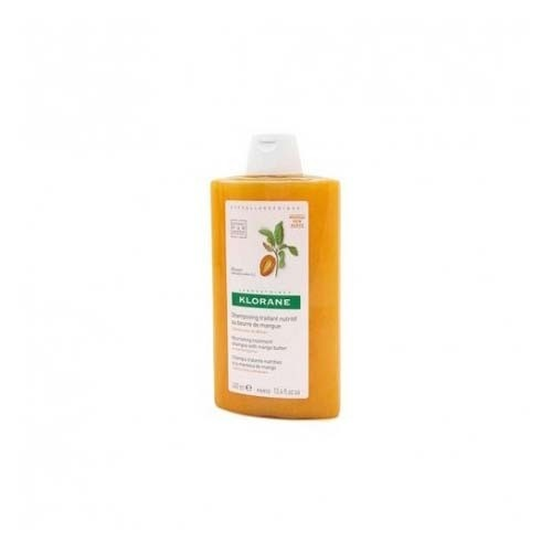 Klorane champu nutritivo a la manteca de mango (1 envase 400 ml)